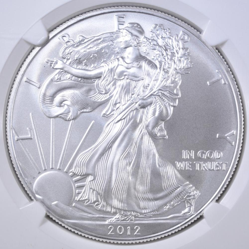 Lot 121: 2012-S ASE EARLY RELEASES NGC MS-70