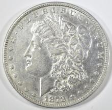 Lot 138: 1878 8 TF MORGAN DOLLAR AU