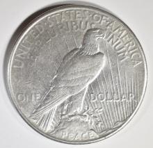 Lot 141: 1928-S PEACE DOLLAR AU