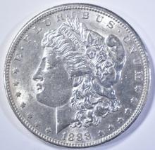 Lot 140: 1888-S MORGAN DOLLAR AU/BU