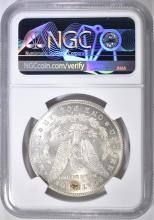 Lot 142: 1878-S MORGAN DOLLAR NGC MS-62