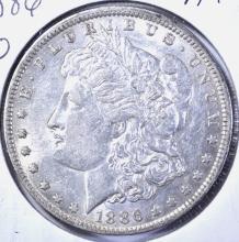 Lot 176: 1886-O MORGAN DOLLAR, AU