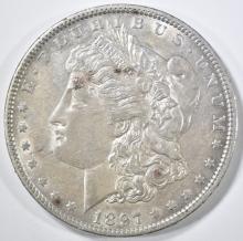 Lot 181: 1897-O MORGAN DOLLAR CH AU
