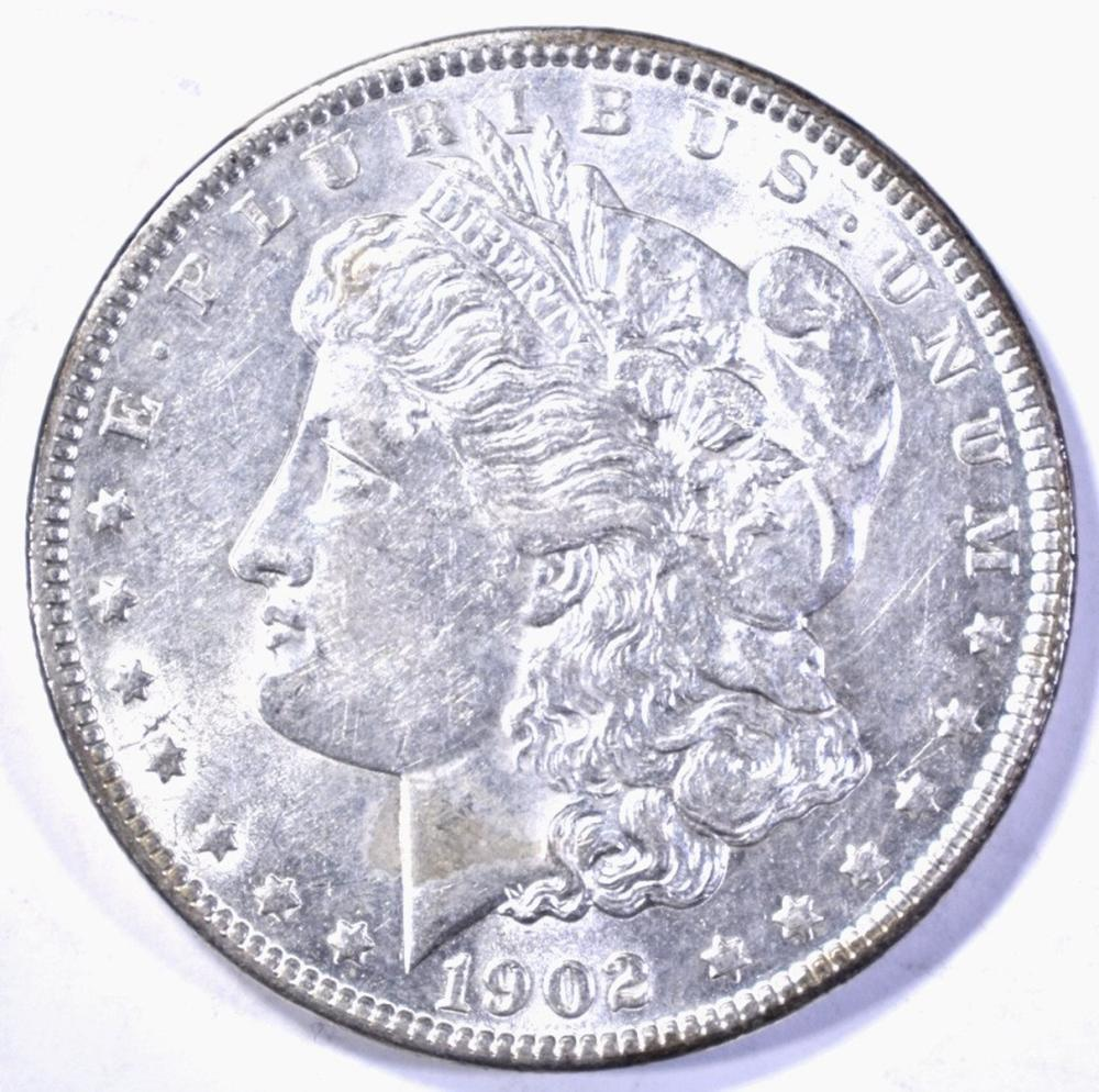 Lot 183: 1902 MORGAN DOLLAR, CH BU