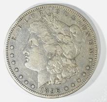 Lot 180: 1896-S MORGAN DOLLAR, XF