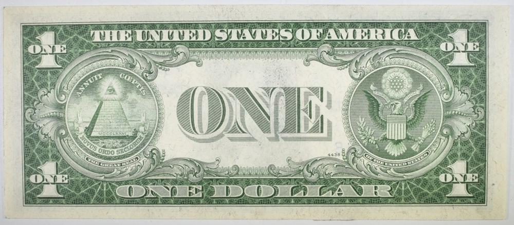 Lot 223: 1935 C $1 SILVER CERTIFICATE STAR NOTE GEM BU