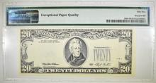 Lot 228: 1993 $20 FRN OF ST. LOUIS. PMG 55 EPQ