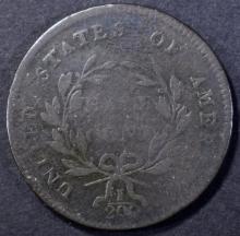 Lot 251: 1797 HALF CENT-1 ABOVE 1, VF