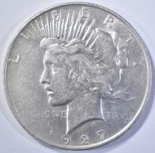 Lot 250: 1927-D PEACE DOLLAR CH AU