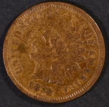 Lot 264: 1878 INDIAN CENT, VF