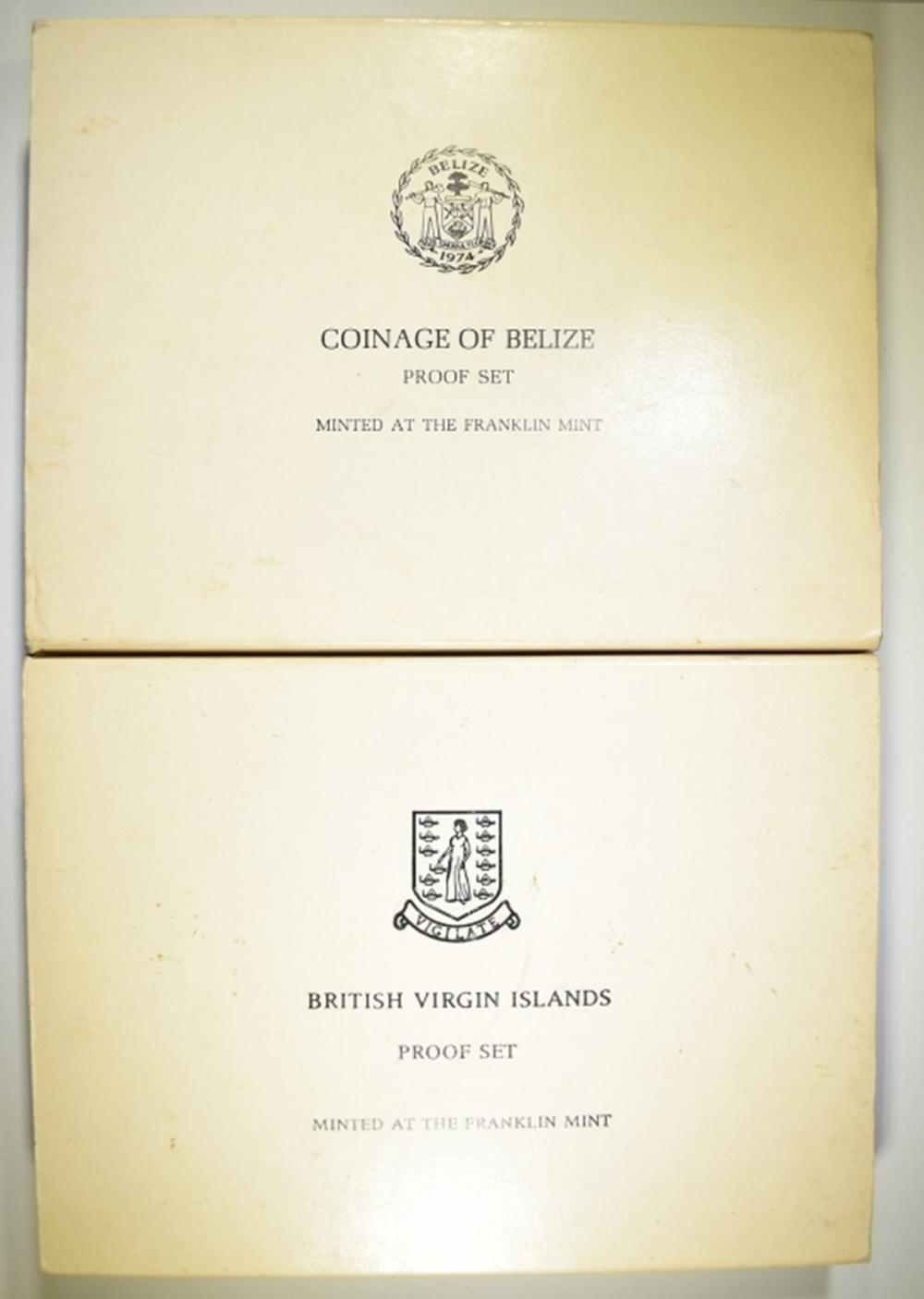 Lot 294: FOREIGN PROOF SETS