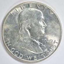 Lot 293: 1949 FRANKLIN HALF DOLLAR BU