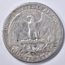 Lot 287: 1932-D WASHINGTON QUARTER, VF