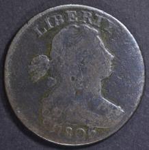 Lot 319: 1806 LARGE CENT, VG POROUS