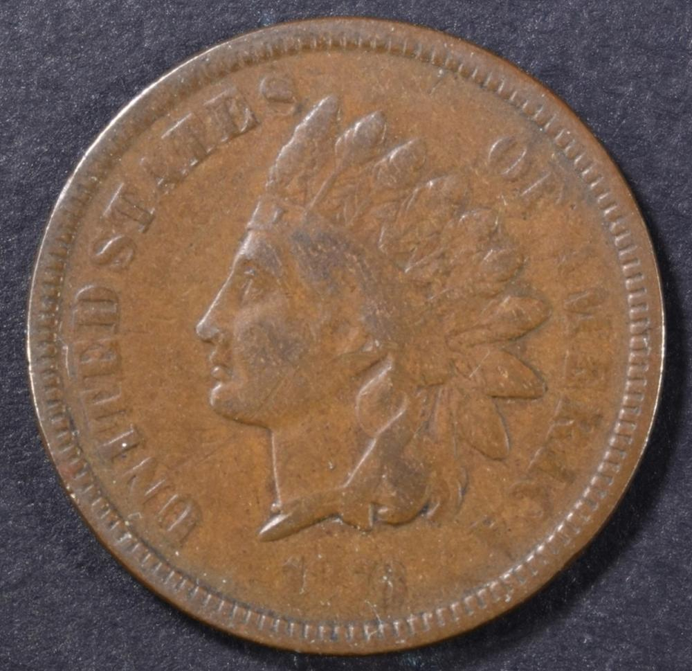 Lot 349: 1873 INDIAN CENT FINE