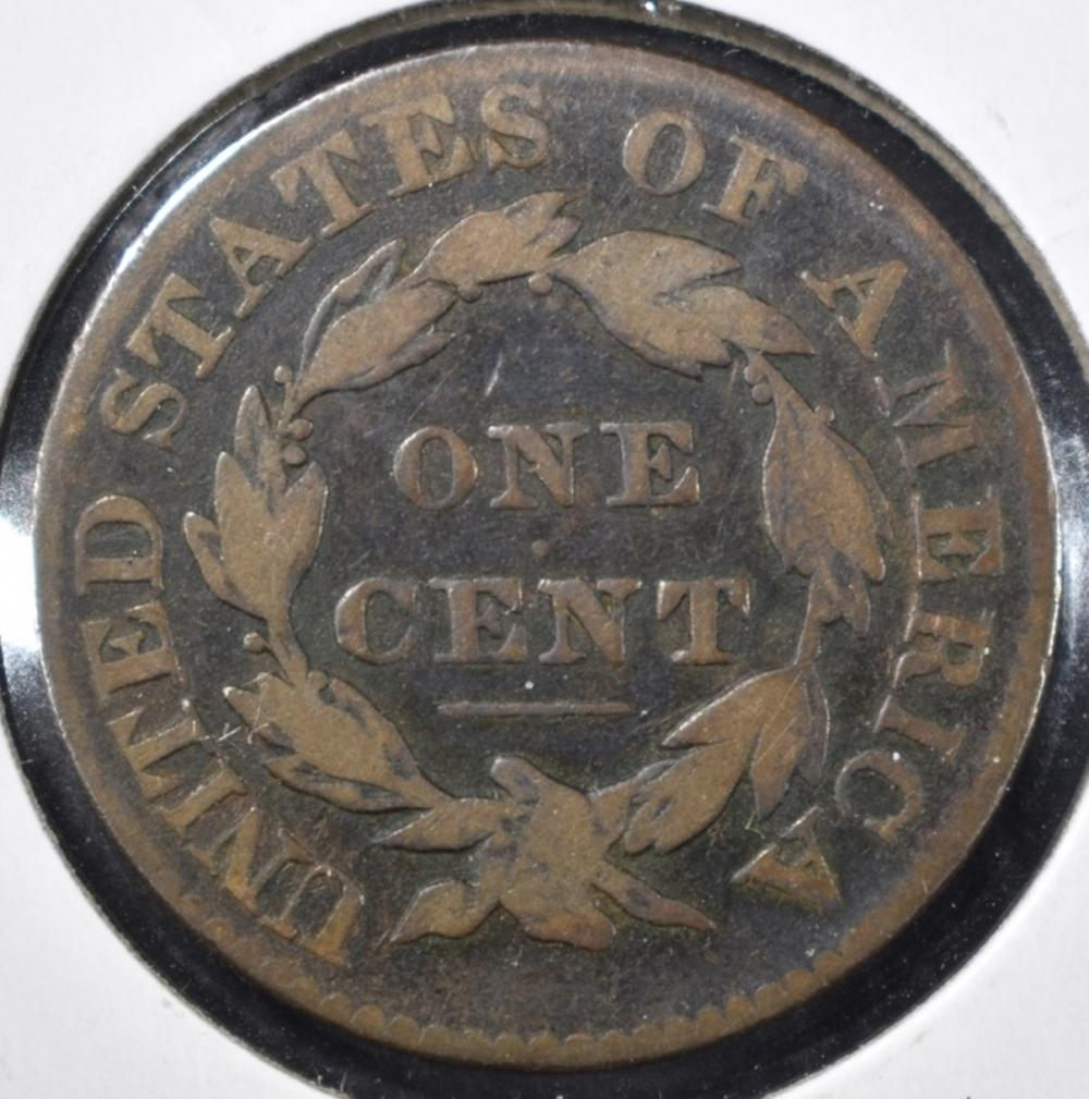 Lot 364: 1828 MATRON HEAD LARGE CENT, FINE
