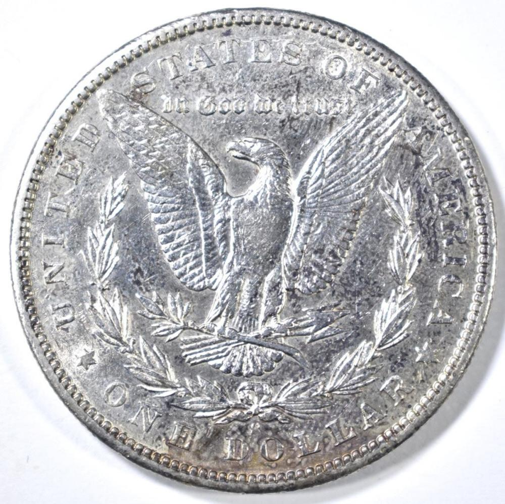 Lot 357: 1898-S MORGAN DOLLAR CH AU