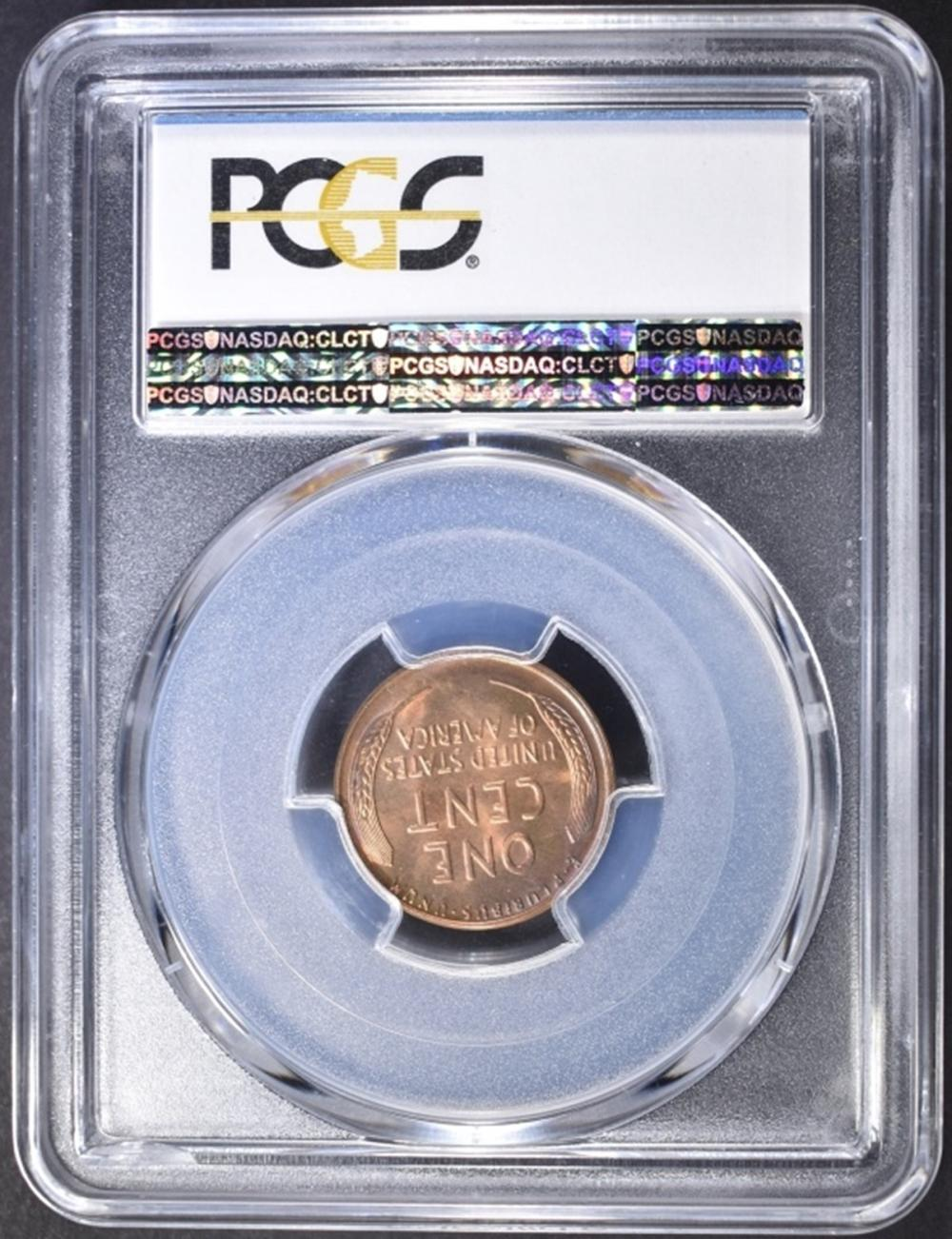 Lot 376: 1938-S LINCOLN CENT PCGS MS-66+ RD