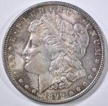 Lot 389: 1899 MORGAN DOLLAR CH BU COLOR