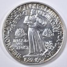 Lot 387: 1937 ROANOKE COMMEM HALF DOLLAR GEM BU