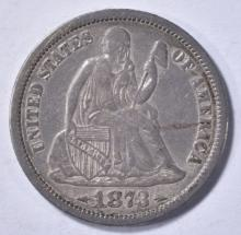 Lot 416: 1873 LIBERTY SEATED ARROWS TO DATE