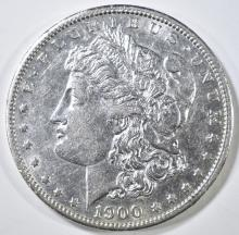 Lot 422: 1900-S MORGAN DOLLAR AU
