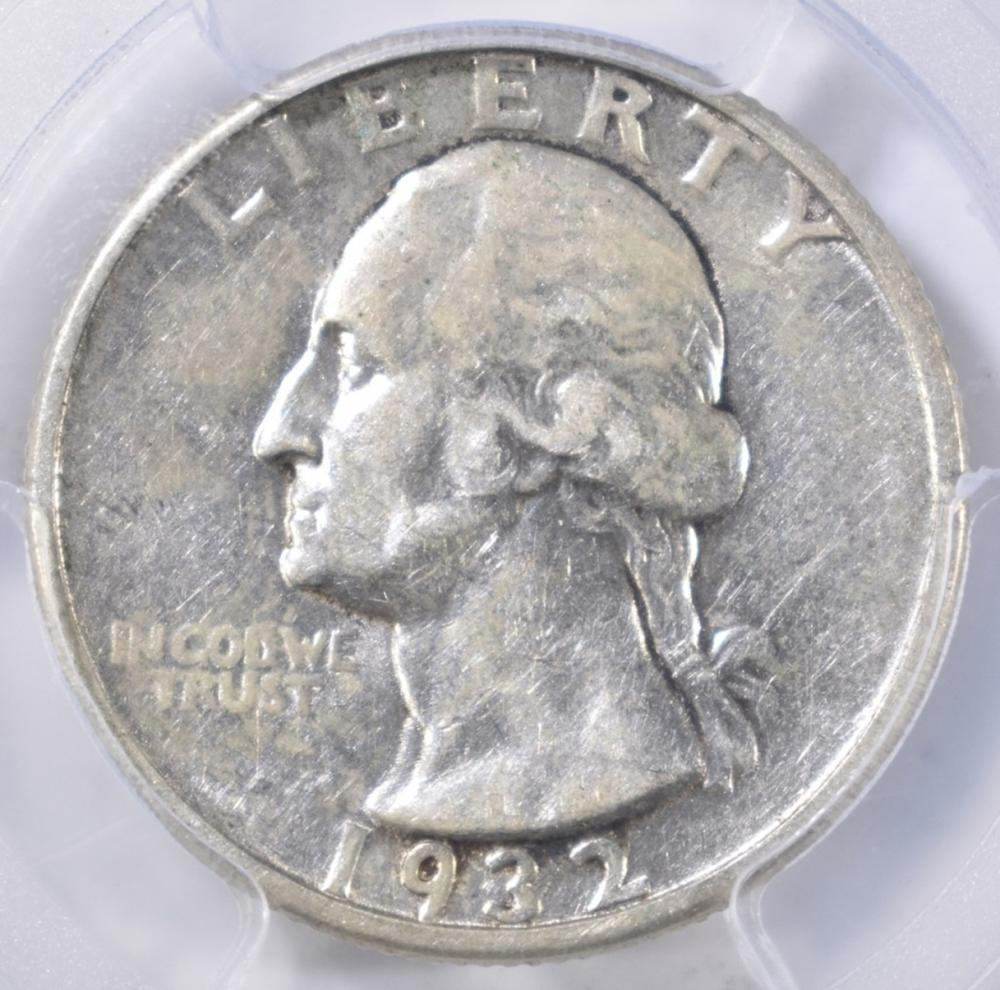 Lot 444: 1932-D WASHINGTON QUARTER