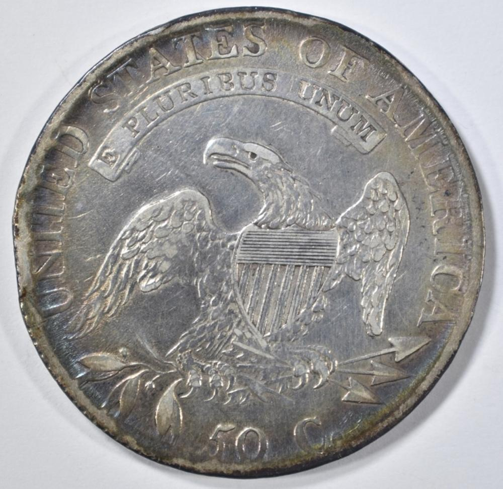 Lot 475: 1814 BUST HALF DOLLAR AU COLOR