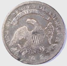 Lot 474: 1813 BUST HALF DOLLAR XF