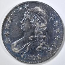 Lot 477: 1826 BUST HALF DOLLAR AU COLOR