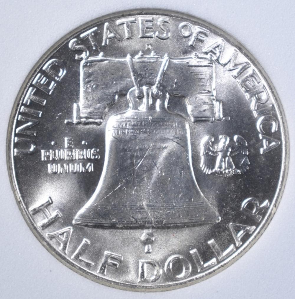 Lot 483: 1962-D FRANKLIN, OBCS SUPERB GEM FBL