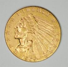 1909 $2.50 GOLD INDIAN BU