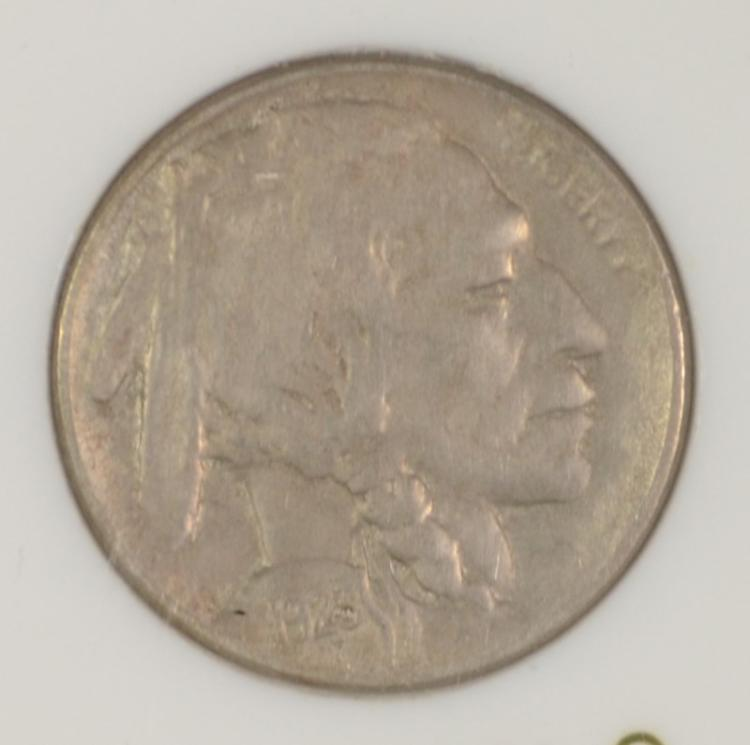 1923-S BUFFALO NICKEL XF  KEY DATE  NICE SURFACES