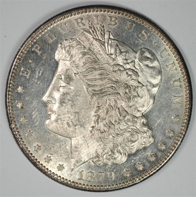 1879-S MORGAN DOLLAR CH BU PROOF LIKE