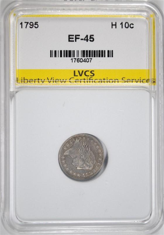 1795 HALF DIME, LVCS XF/AU SUPER RARE!!