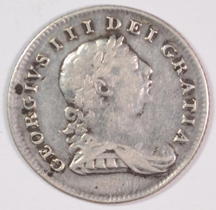 1805 Ireland 10 Pence Bank Token, KM# TN3