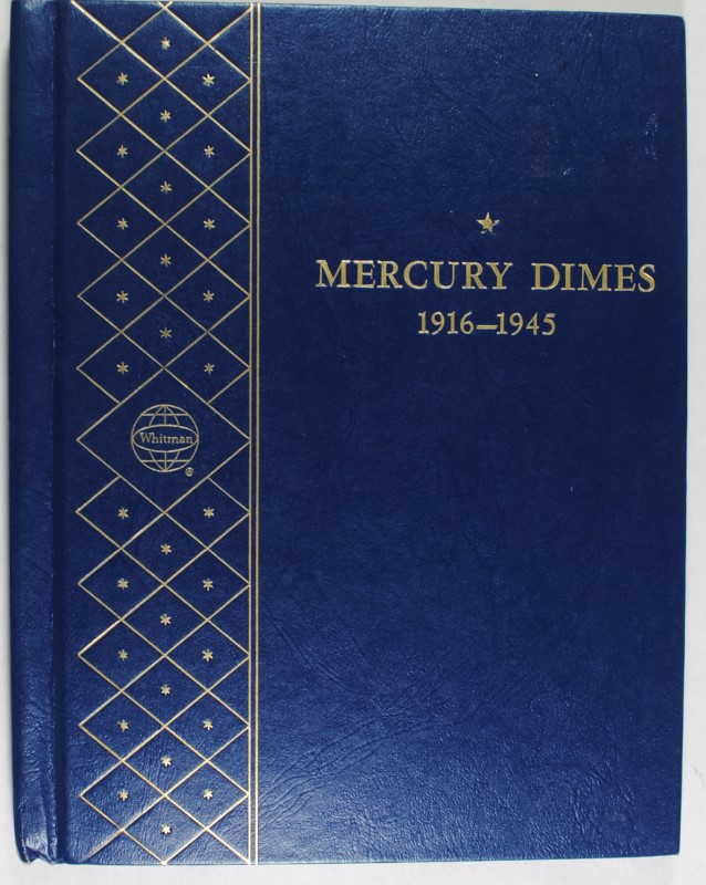PARTIAL MERCURY DIME SET:  SEE DECRIPTION