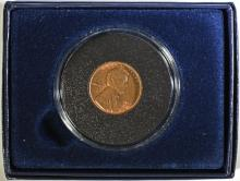 1931-D LINCOLN CENT, GEM BU  MOSTLY RED