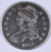 1831 BUST HALF DOLLAR, FINE/VF