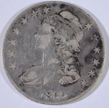 1835 BUST HALF DOLLAR, VF