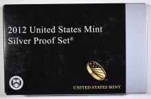 2012 U.S. SILVER PROOF SET IN ORIGINAL PACKAGING  SCARCE MODERN SET