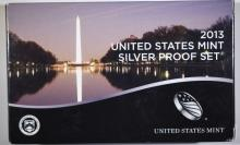 2013 U.S. SILVER PROOF SET IN ORIGINAL PACKAGING