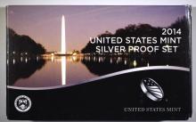 2014 U.S. SILVER PROOF SET IN ORIGINAL  PACKAGING