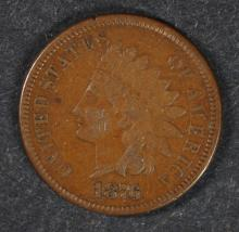 1876 INDIAN CENT, VF/XF