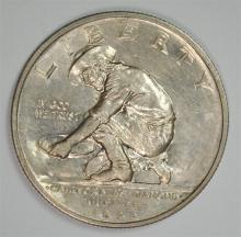 1925-S CALIFORNIA COMMEMORATIVE HALF DOLLAR, CHOICE BU