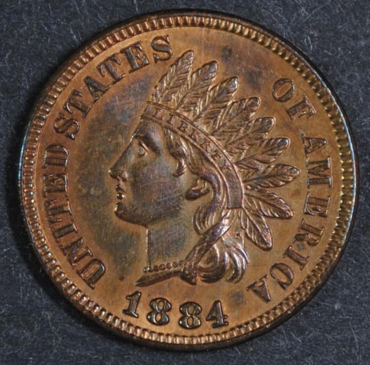 1884 INDIAN CENT CH BU