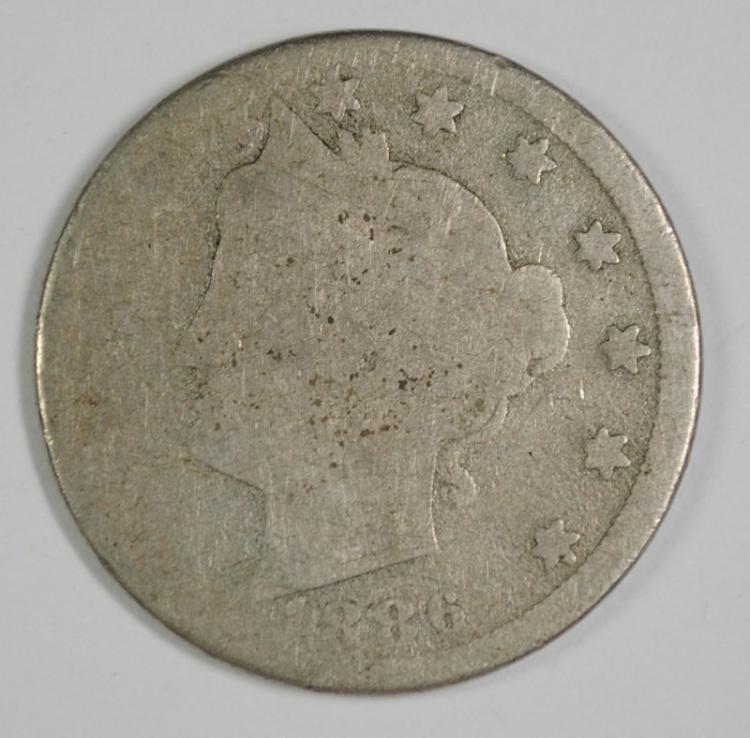 1886 LIBERTY NICKEL AG