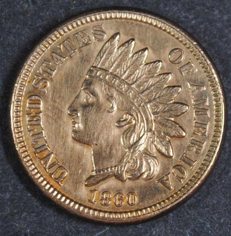 1860 INDIAN CENT BU