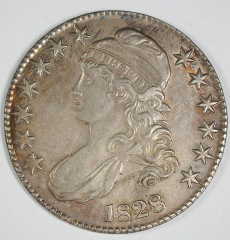 1828 BUST HALF DOLLAR BU