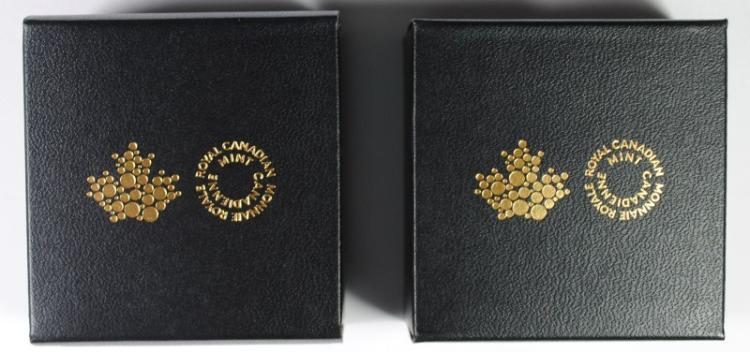 2 - CANADA $5 SILVER COINS; 2014 $5 PRINCESS to MONARCH - 2015 $5 TODAYS MONARCH